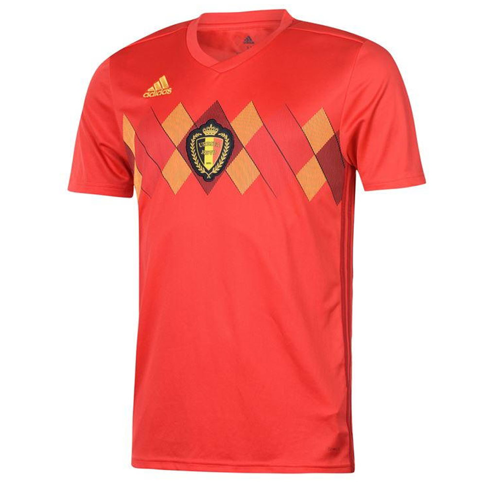 c710046e3 2018-2019 Belgium Home Adidas Football Shirt