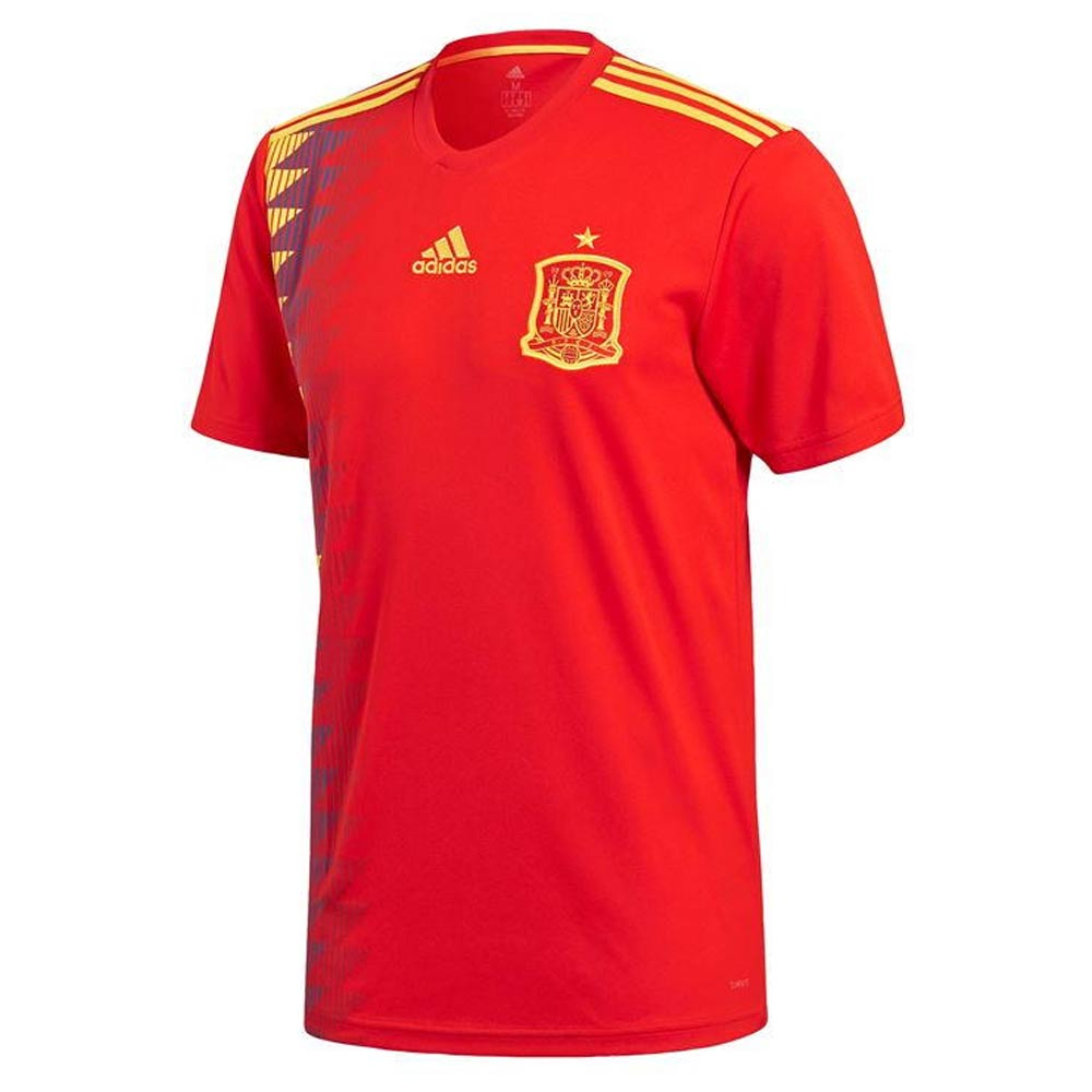 2018-2019 Spain Home Adidas Football Shirt 6623f02b2