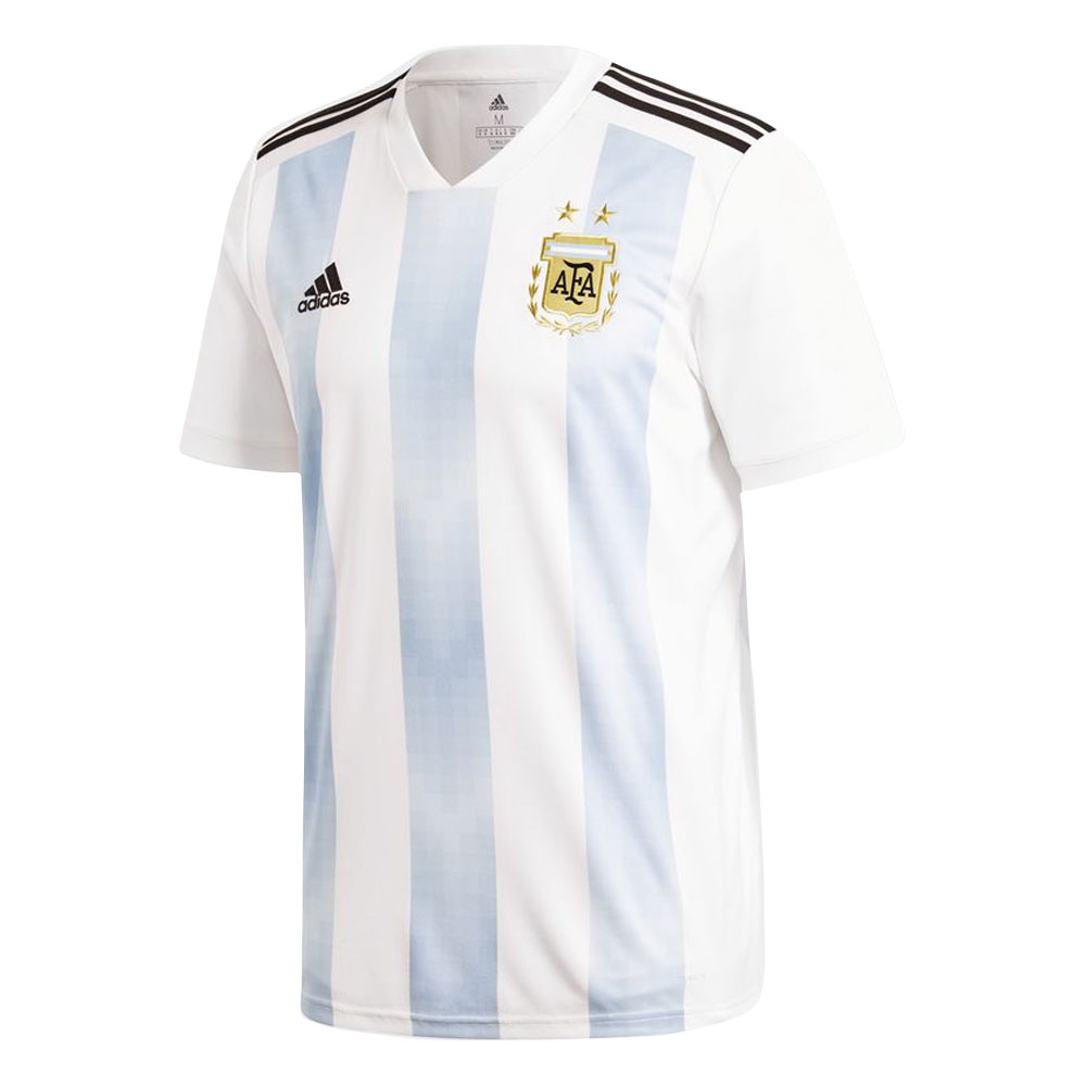 41ae0fa81 2018-2019 Argentina Home Adidas Football Shirt