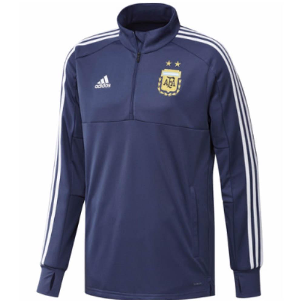 012296d19 2018-2019 Argentina Adidas Training Top (Raw Purple)