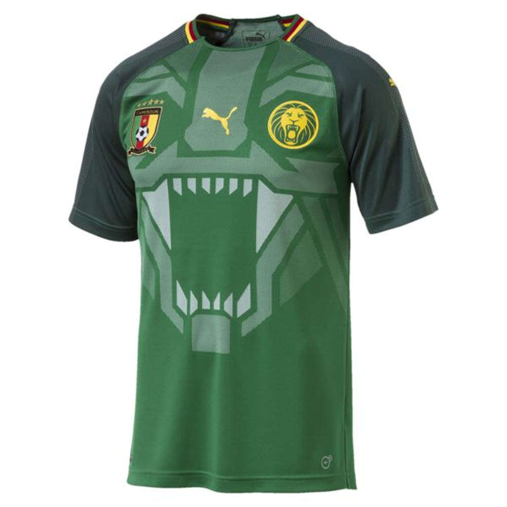 da62aebf6 2018-2019 Cameroon Home Puma Football Shirt