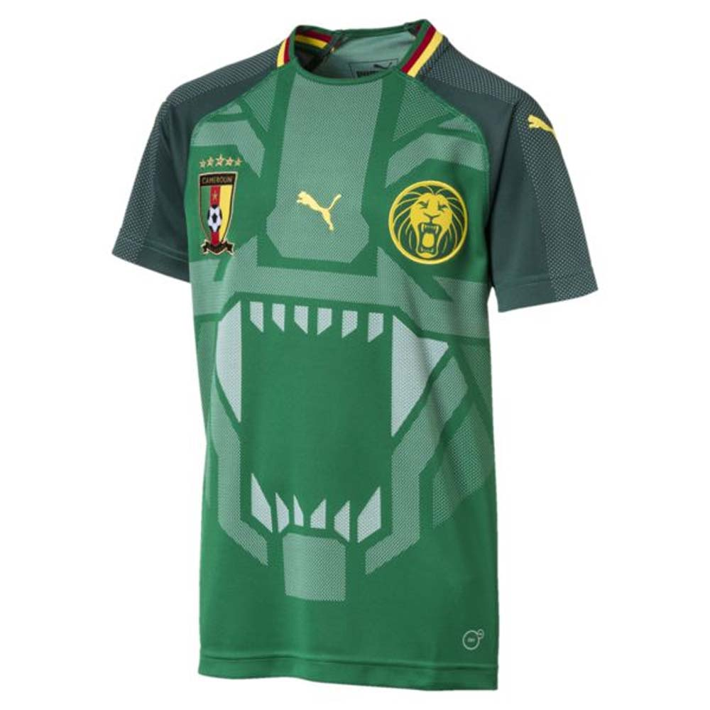73d468783 2018-2019 Cameroon Home Puma Football Shirt (Kids)
