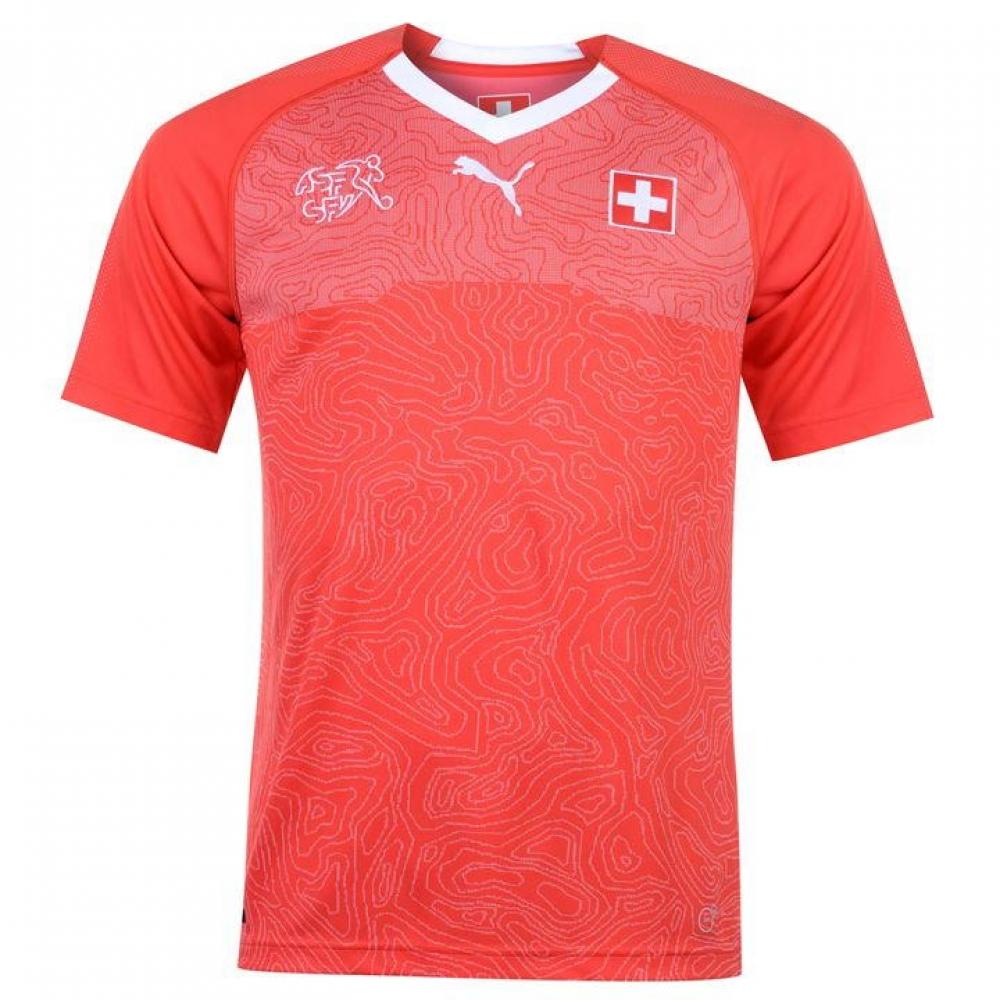 286984047 2018-2019 Switzerland Home Puma Football Shirt