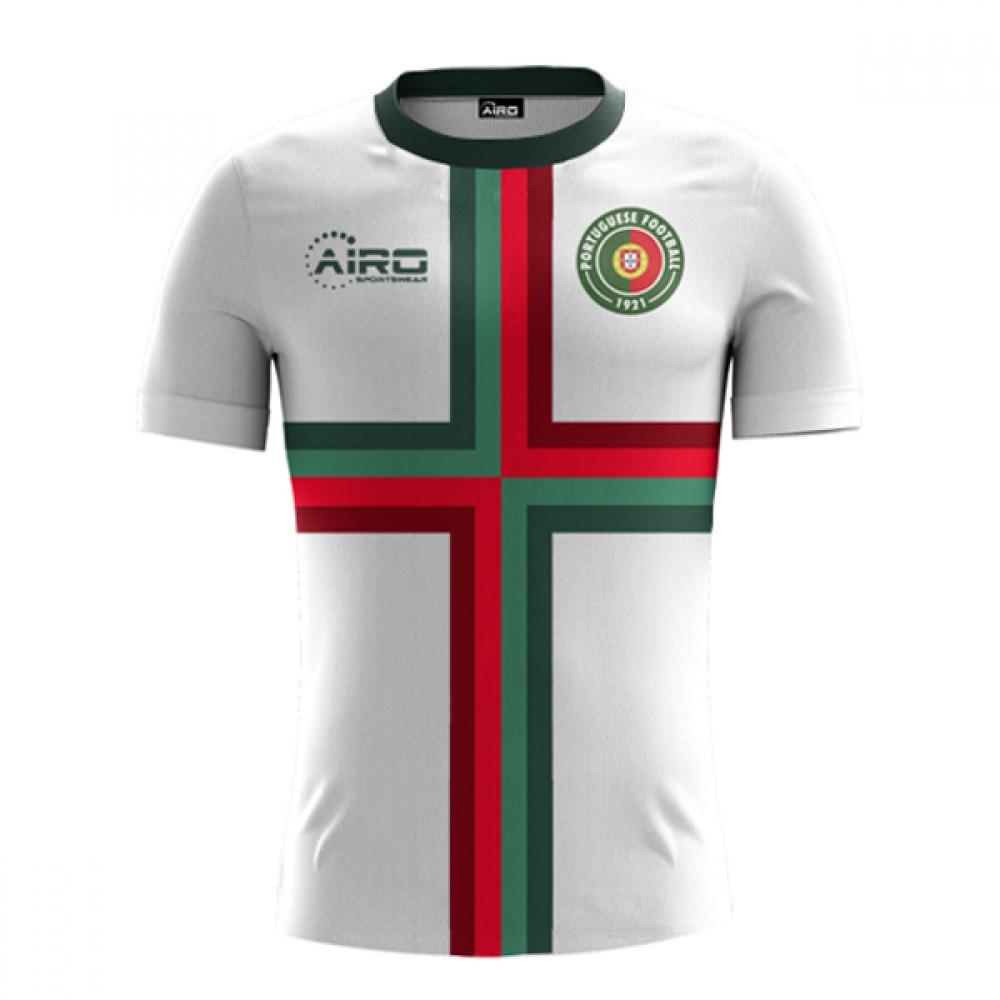 2018-2019 Portugal Away Concept Football Shirt aa39229e0