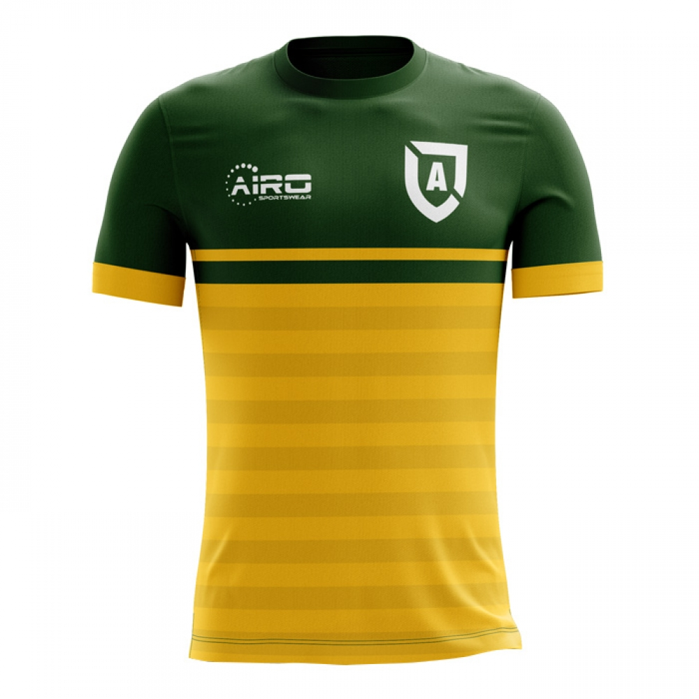 b5277a584 2018-2019 Australia Home Concept Football Shirt