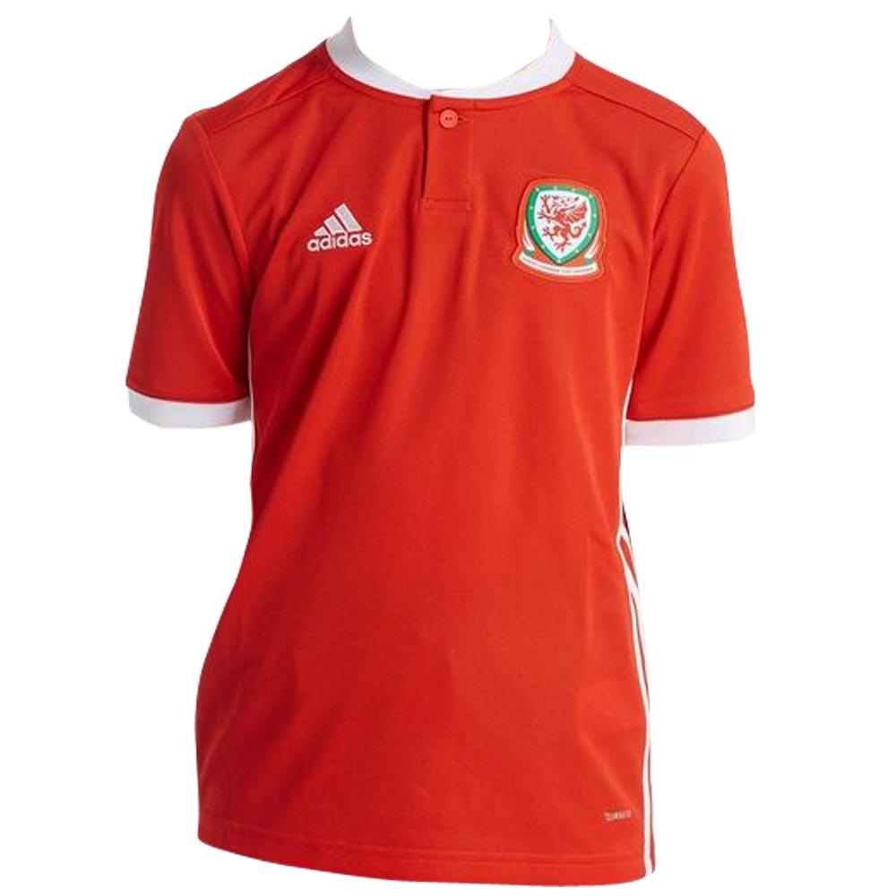 2018-2019 Wales Home Adidas Football Shirt (Kids) 1395f2834