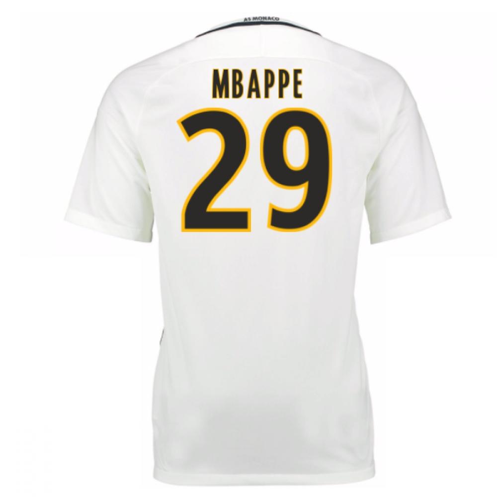 df376749dd4 2016-17 Monaco Away Shirt (Mbappe 29) - Kids