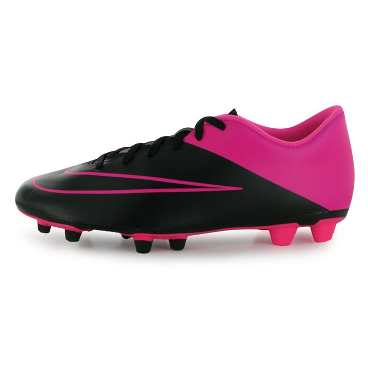 Nike Mercurial Vortex FG Mens Football Boots (Black-Pink) [] - Uksoccershop