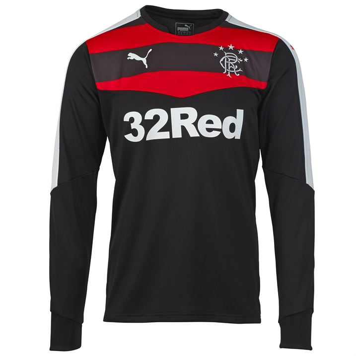 a94bee502ef 2015-2016 Rangers Away Goalkeeper Shirt (Black)