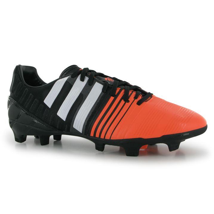 big sale a376e 403d1 ... order adidas nitrocharge 2.0 fg mens football boots black white flash  d9d5d ba16c