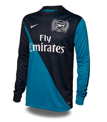 2011-12 Arsenal Long Sleeve Away Shirt (Gervinho 27)  423980  - Uksoccershop 0dfed2bcb