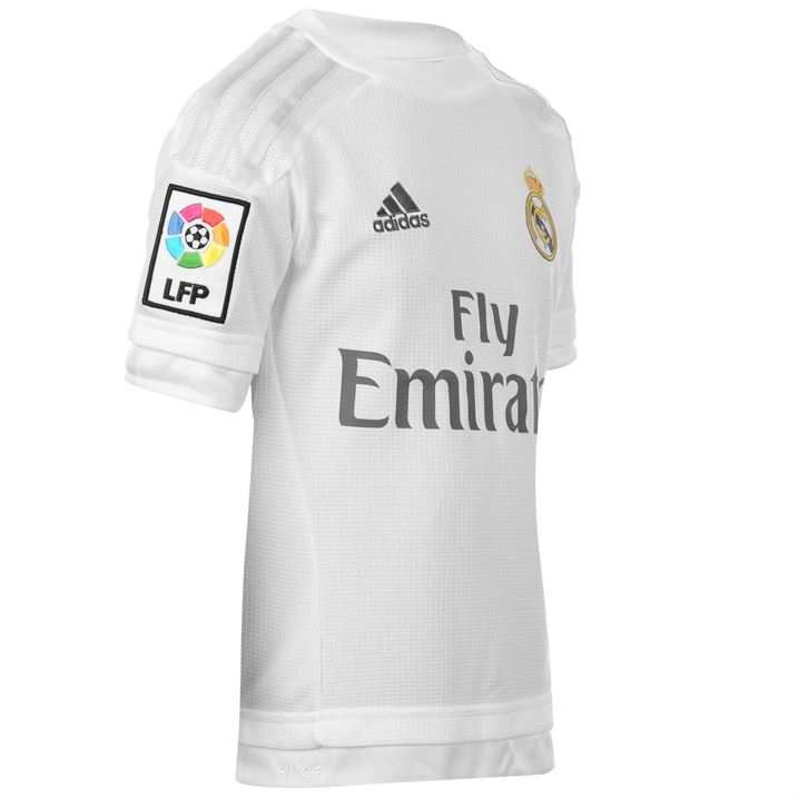 5c52cef67 2015-2016 Real Madrid Adidas Home Shirt (Kids)  S12659  - Uksoccershop
