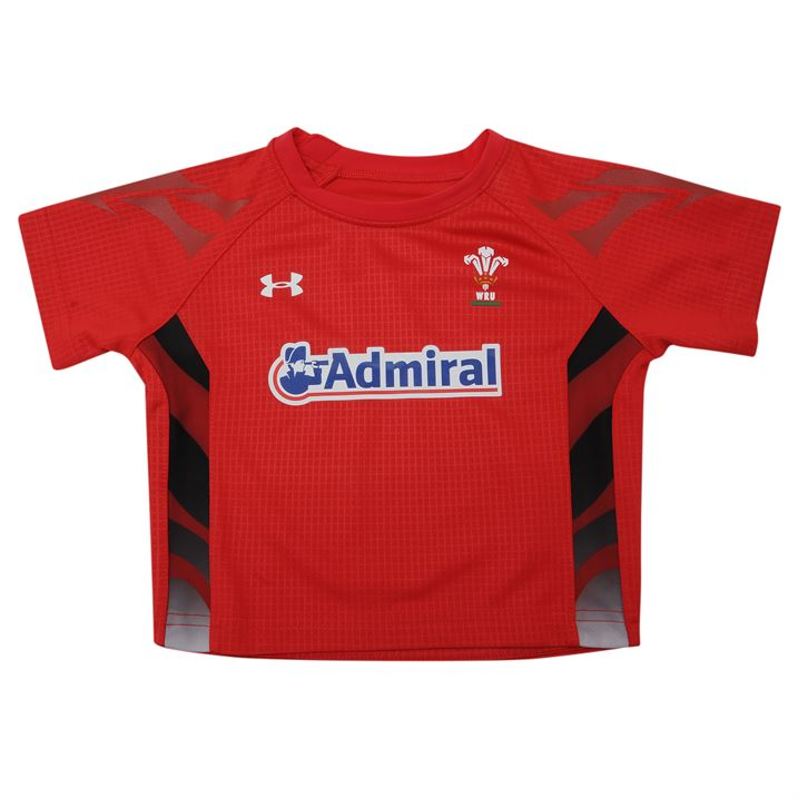 bac631bdc37 2015-2016 Wales Rugby Home WRU Mini Kit (Red) [1267707-600] - Uksoccershop