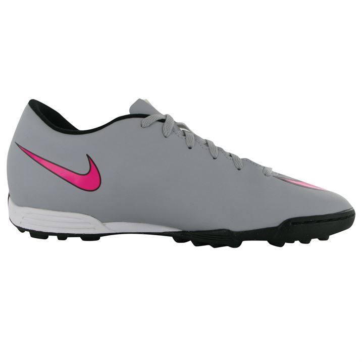 Nike Mercurial Vortex Astro Turf Boys Trainers Shoes Wolf Grey/Pink LM