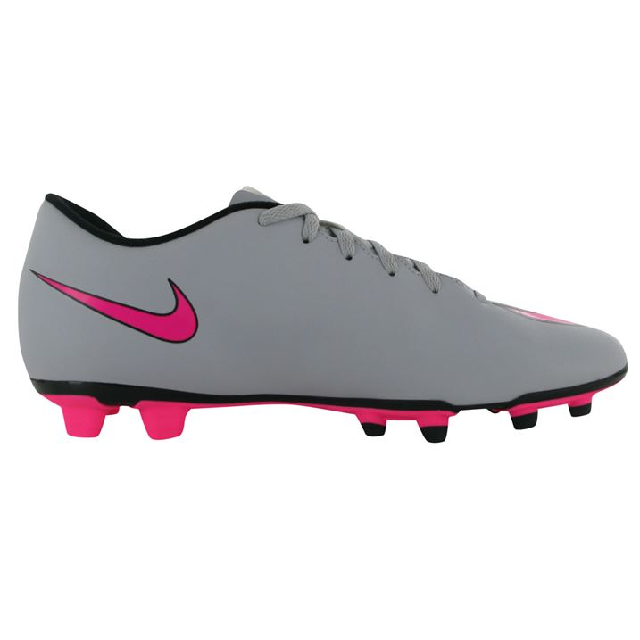Nike Mercurial Vortex FG Mens Football Boots Wolf Grey Pink     Uksoccershop