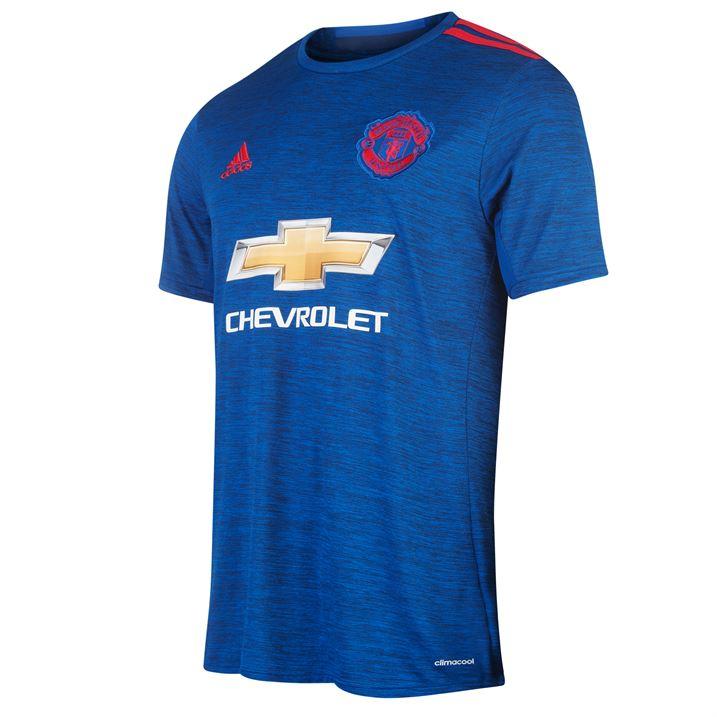 f2b15f0ce 2016-2017 Man Utd Adidas Away Football Shirt (Kids)  AI6701  - Uksoccershop