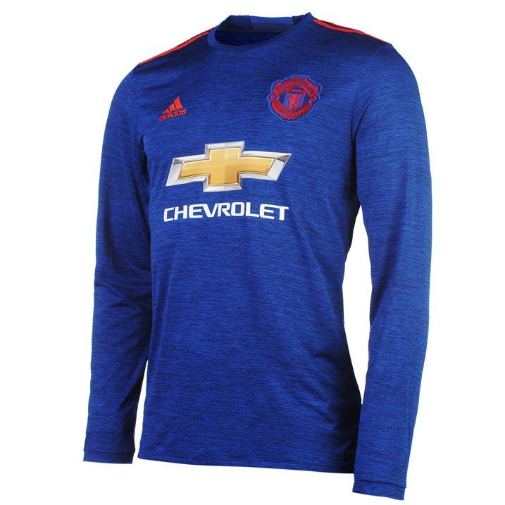 5dcf3ec4e ... 2016-2017 Man Utd Adidas Away Long Sleeve Shirt AI6703 - Uksoccershop  ...