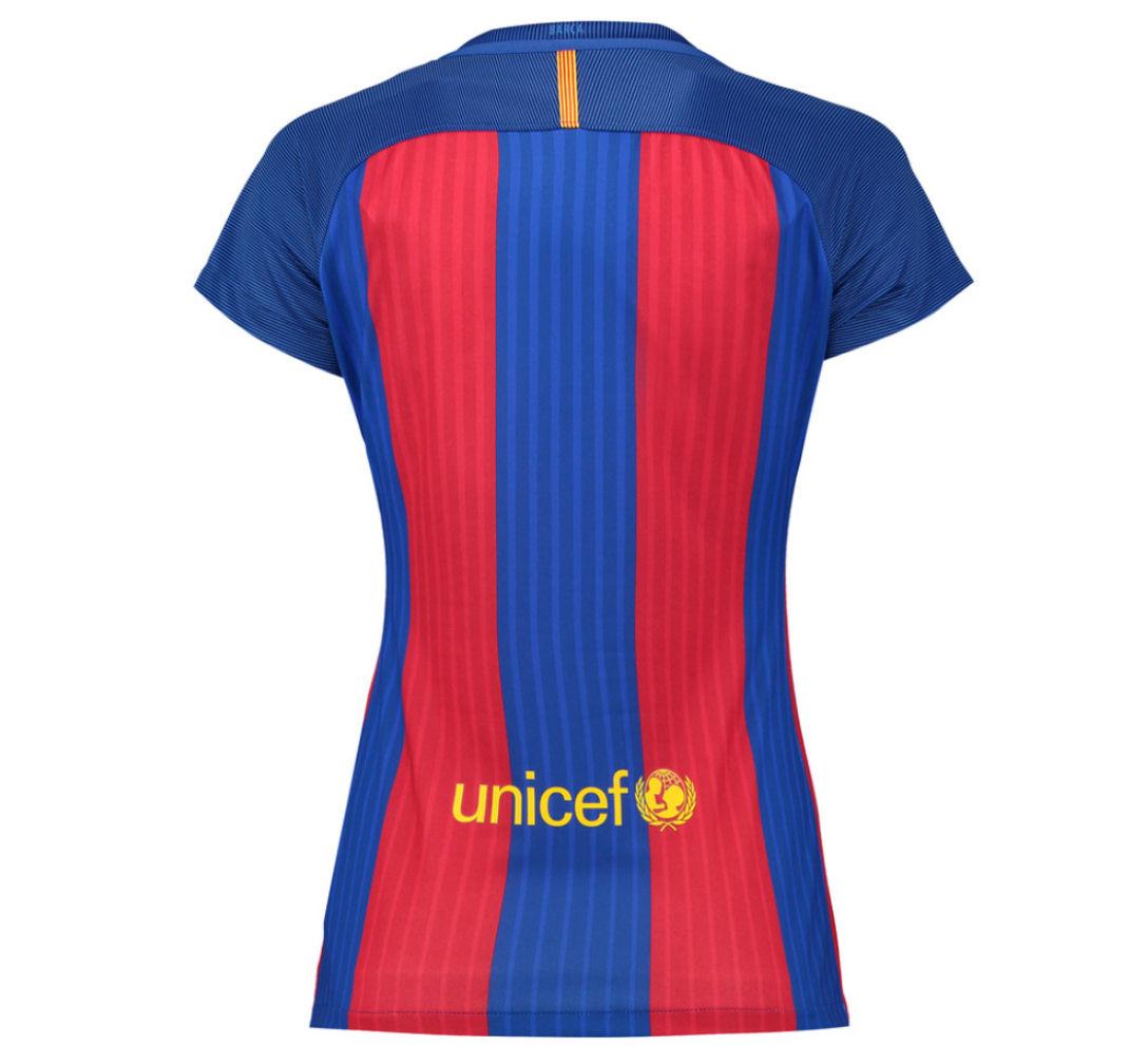 2d02a4245 2016-2017 Barcelona Home Nike Ladies Shirt  777109-481  - Uksoccershop