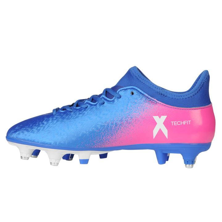 ... cozy fresh d7d6f 31aff Adidas X 16.3 SG Mens Football Boots (Blue-Pink)  ... 841a6f62948a
