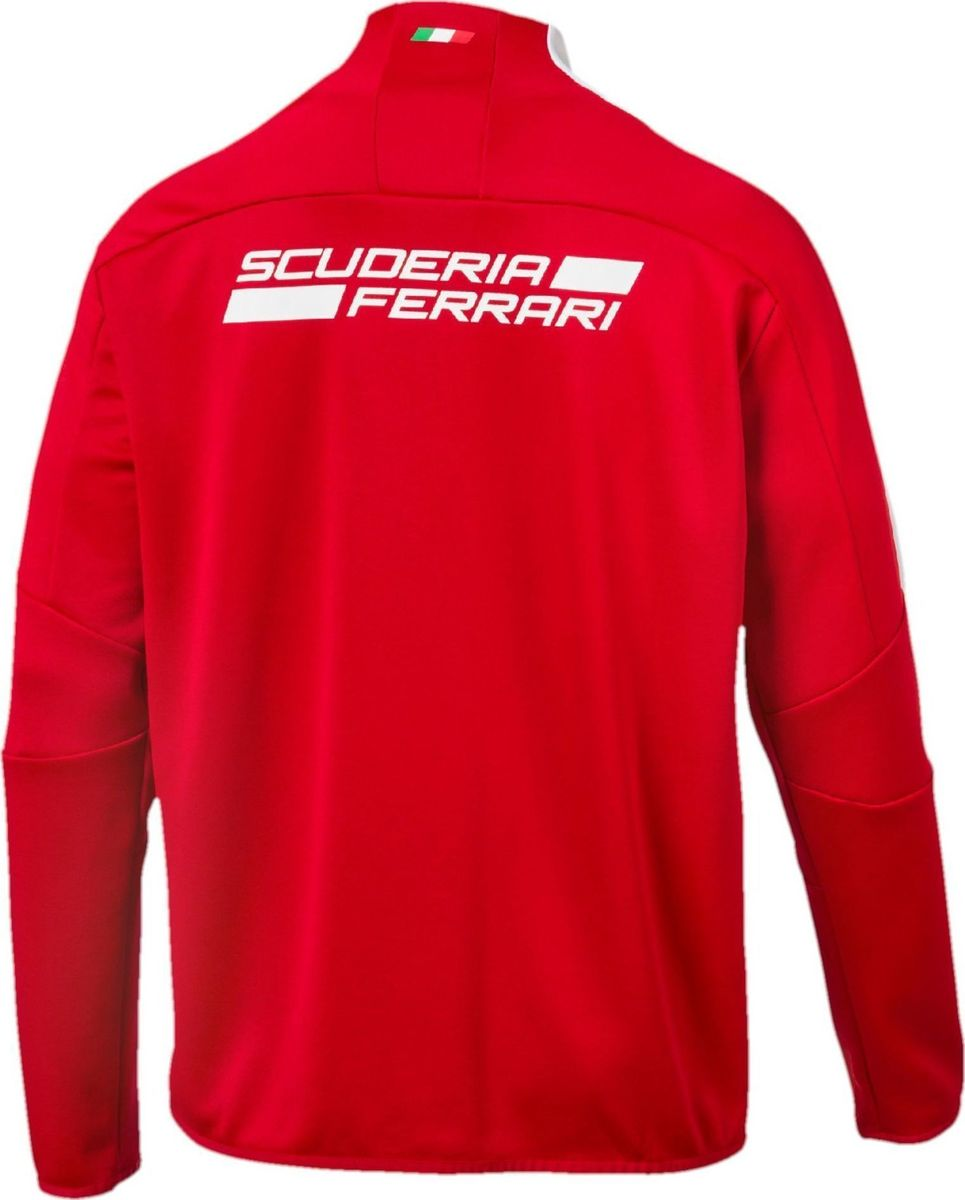 puma asp jackets men red cheap discounted home jacket ferrari