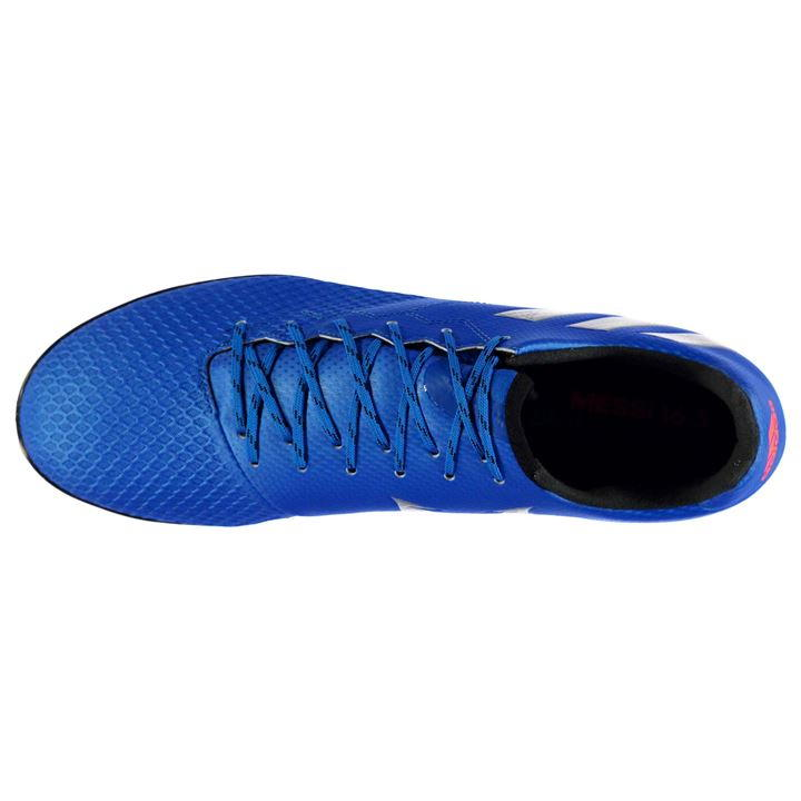 094f6479155 Adidas Messi 16.3 Mens Astro Turf Trainers (Shock Blue)    - Uksoccershop