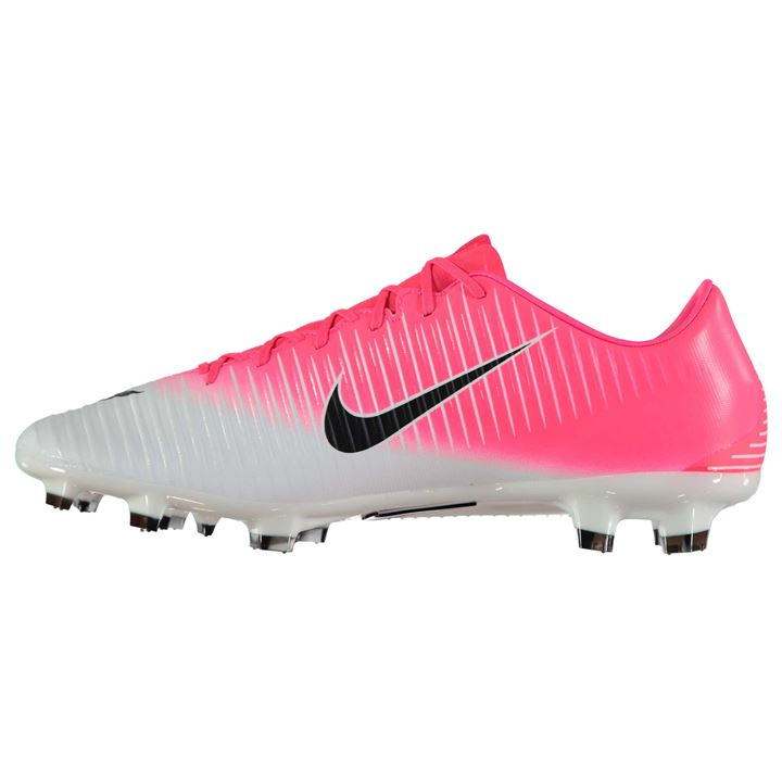 5ff45c450a37 Nike Mercurial Veloce FG Football Boots (Pink-Silver) [] - Uksoccershop