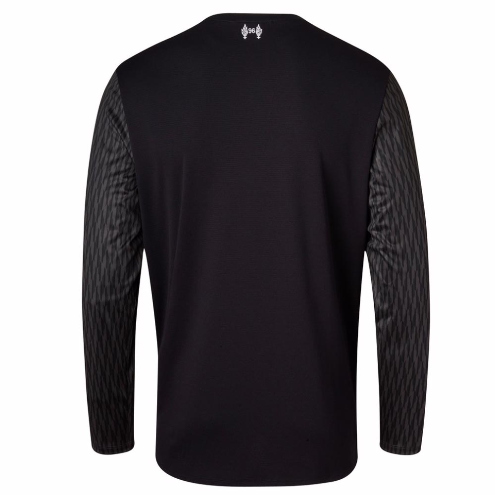 2017-2018 Liverpool Away Long Sleeve Goalkeeper Shirt (Black) [MT739005] -  Uksoccershop