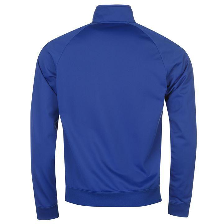 2017-2018 Chelsea Nike Core Pre-Match Jacket (Blue)  905498-417  -  Uksoccershop 3416a6d33