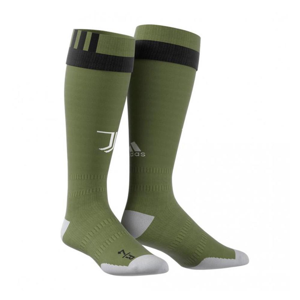 18dfa3984 2017-2018 Juventus Adidas Third Football Socks (Green)  AZ8674  -  Uksoccershop