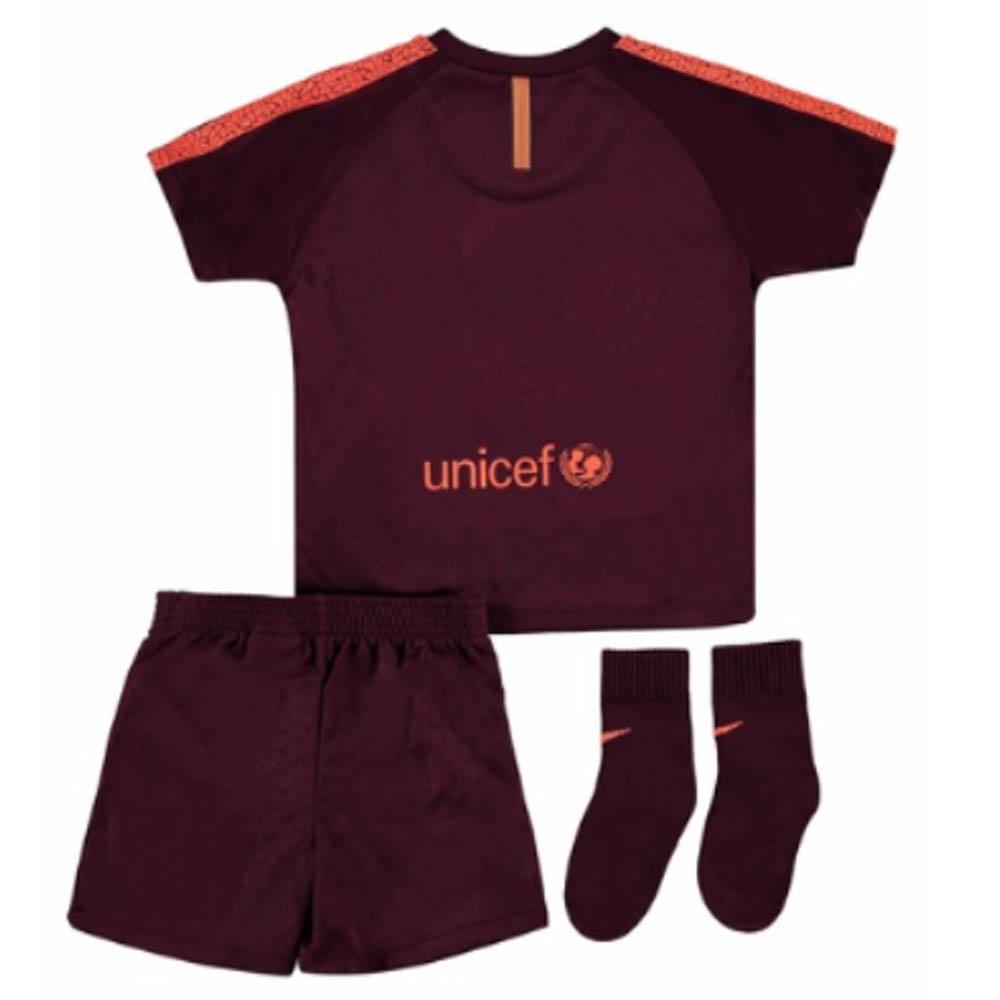 610401981 2017-2018 Barcelona Third Nike Baby Kit  847317-683  - Uksoccershop