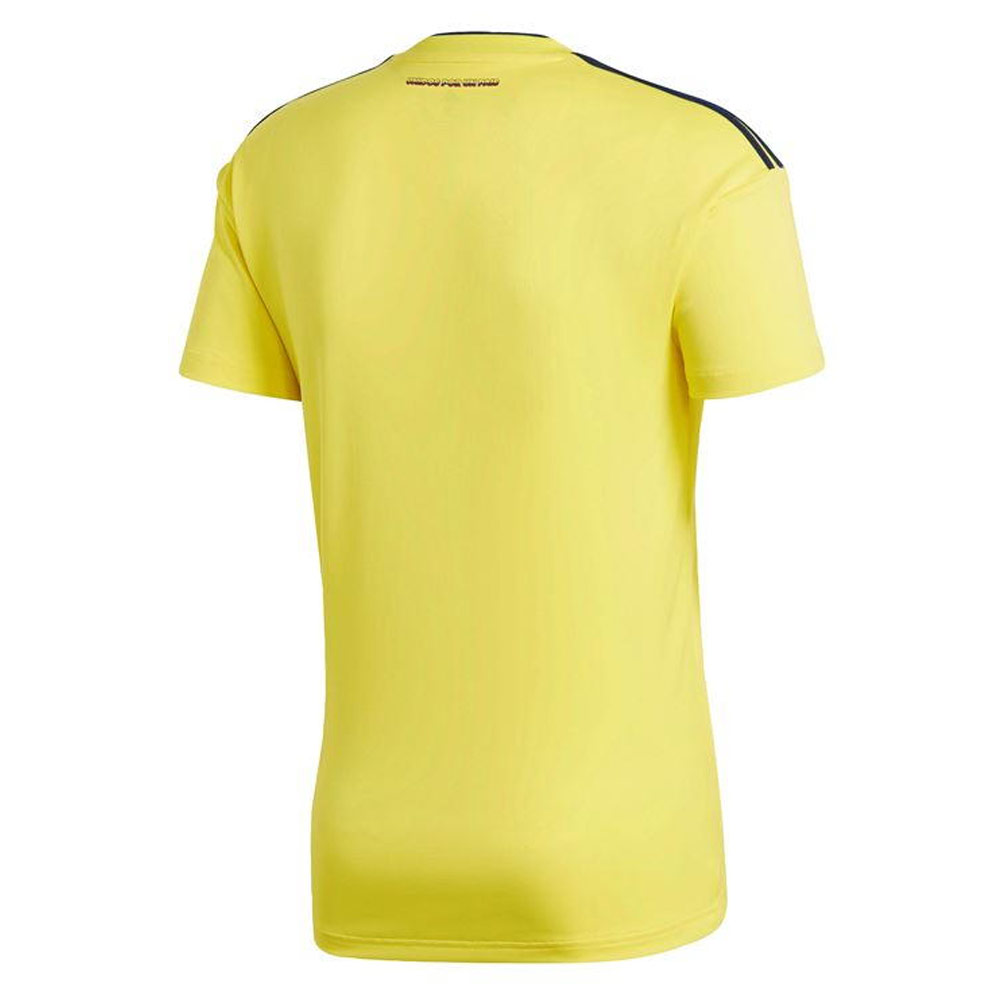 f9a52df4251 2018-2019 Colombia Home Adidas Football Shirt  CW1526  - Uksoccershop