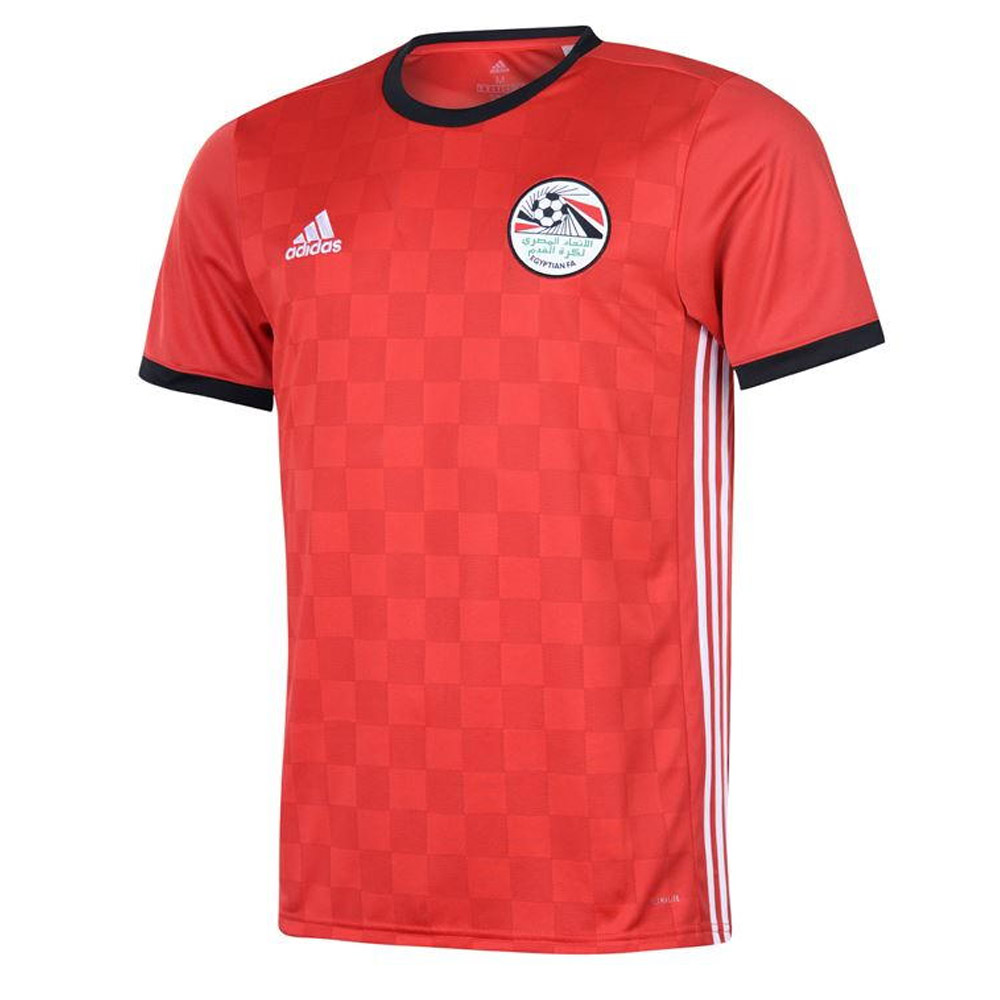 91318b28e6c 2018-2019 Egypt Home Adidas Football Shirt  BR3730  - Uksoccershop