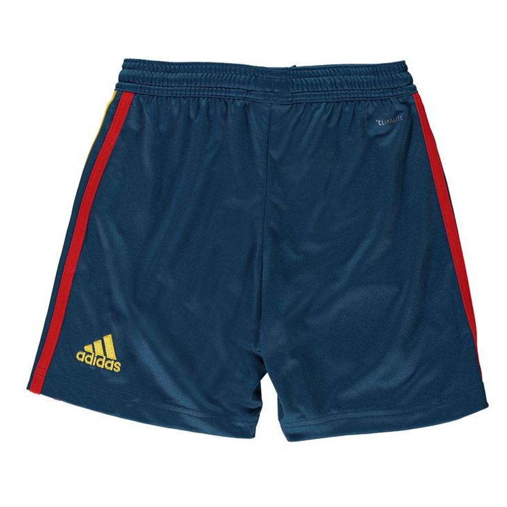 92880d155 2018-2019 Spain Home Adidas Football Shorts (Kids) [BR2710] - Uksoccershop