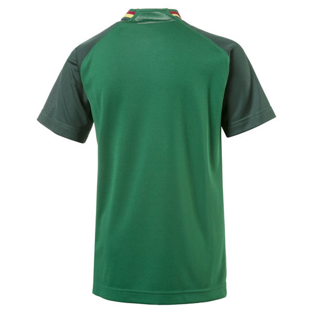ccd32273e091 2018-2019 Cameroon Home Puma Football Shirt (Kids)  75234401  - Uksoccershop