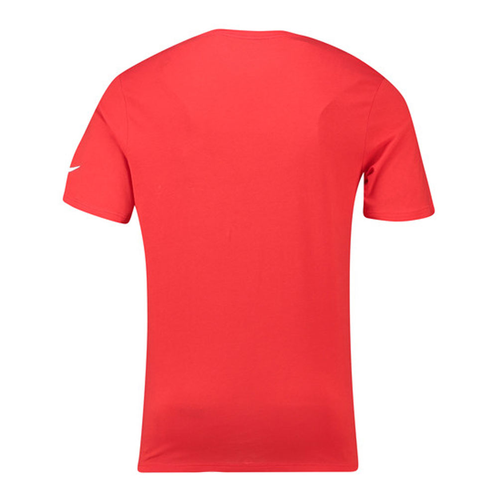 d0c32a9a 2018-2019 England Nike Evergreen Crest Tee (Red) [908371-600 ] -  Uksoccershop