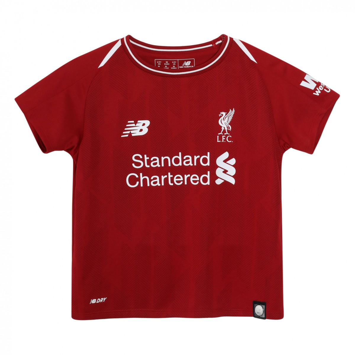 4db92345a 2018-2019 Liverpool Home Baby Kit  BY830039  - Uksoccershop