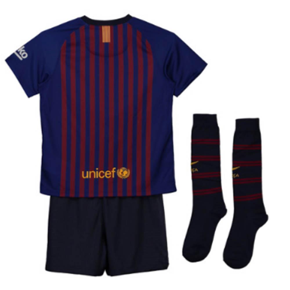 0817e57bff8 2018-2019 Barcelona Home Nike Little Boys Mini Kit [894479-456] -  Uksoccershop