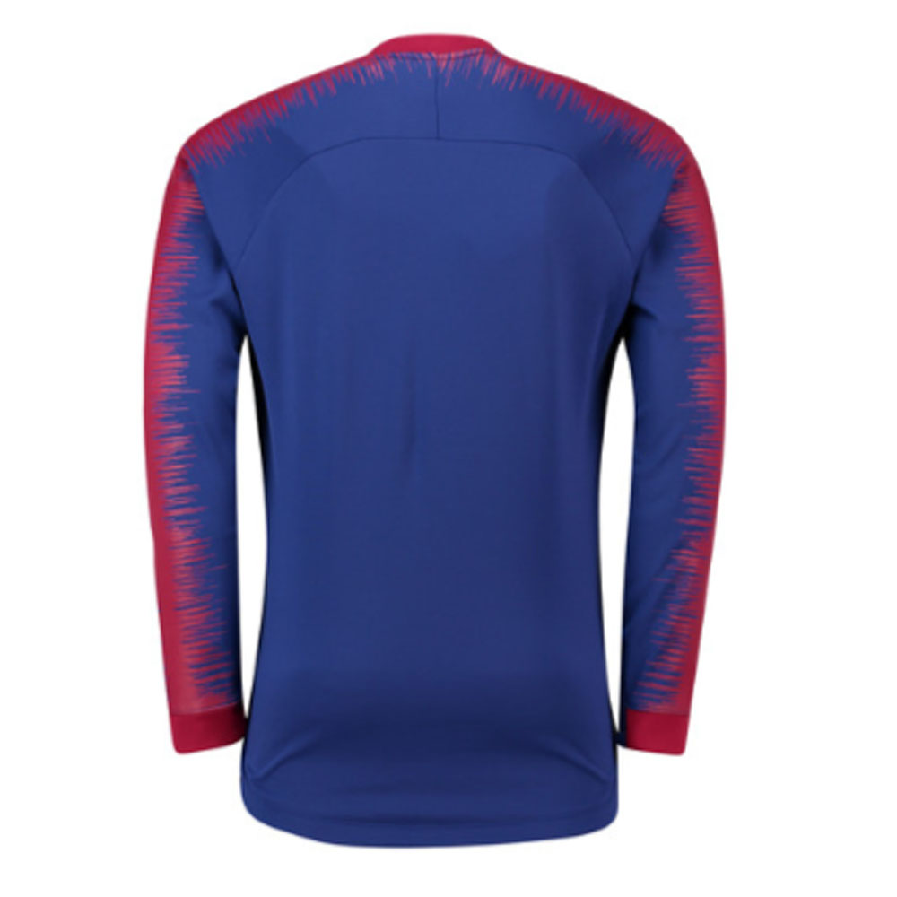 381077c99 2018-2019 Barcelona Nike Anthem Jacket (Blue) [894361-456] - Uksoccershop