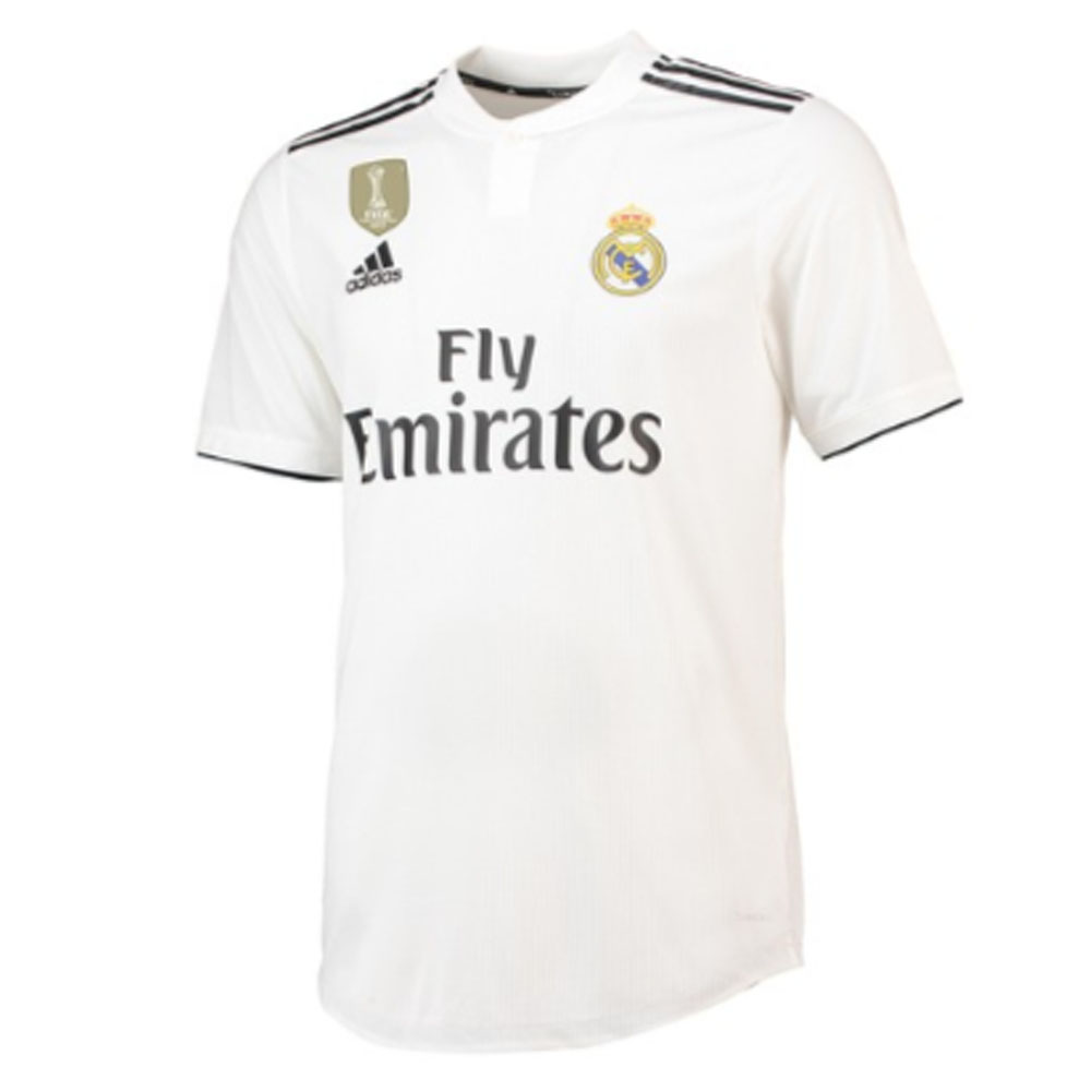 82348811d 2018-2019 Real Madrid Adidas Authentic Home Football Shirt  CG0561  -  Uksoccershop