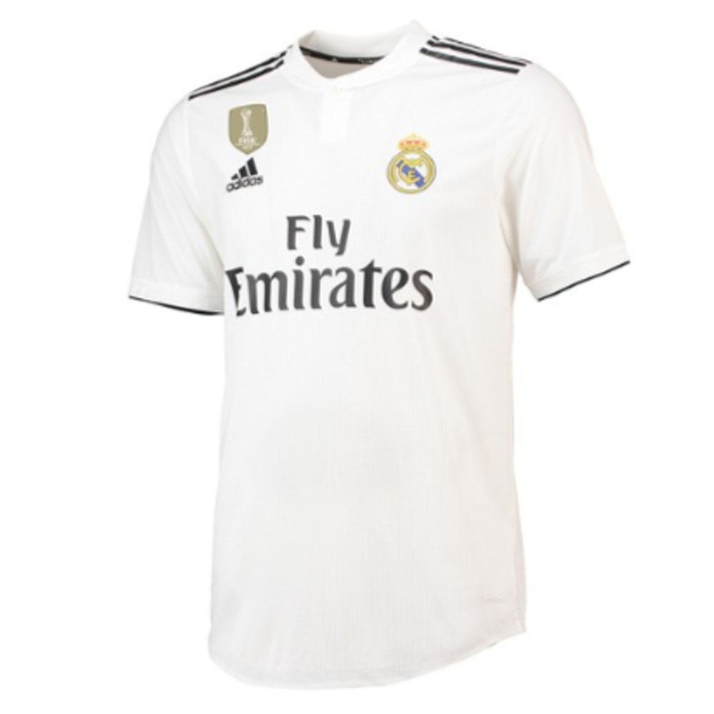f7db0ca311b 2018-2019 Real Madrid Adidas Authentic Home Football Shirt  CG0561  -  Uksoccershop