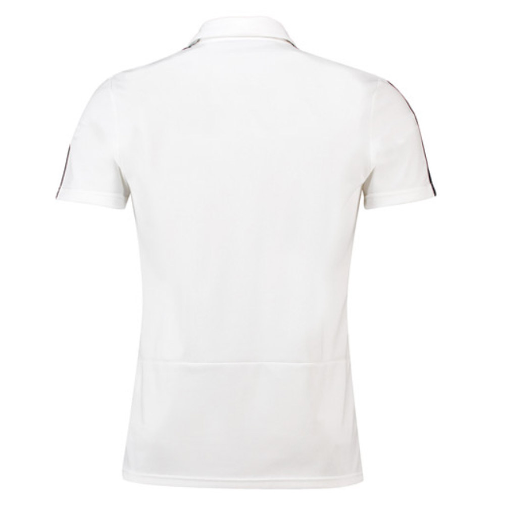 57fcfced 2018-2019 Real Madrid Adidas Polo Shirt (White) [CW8669] - Uksoccershop