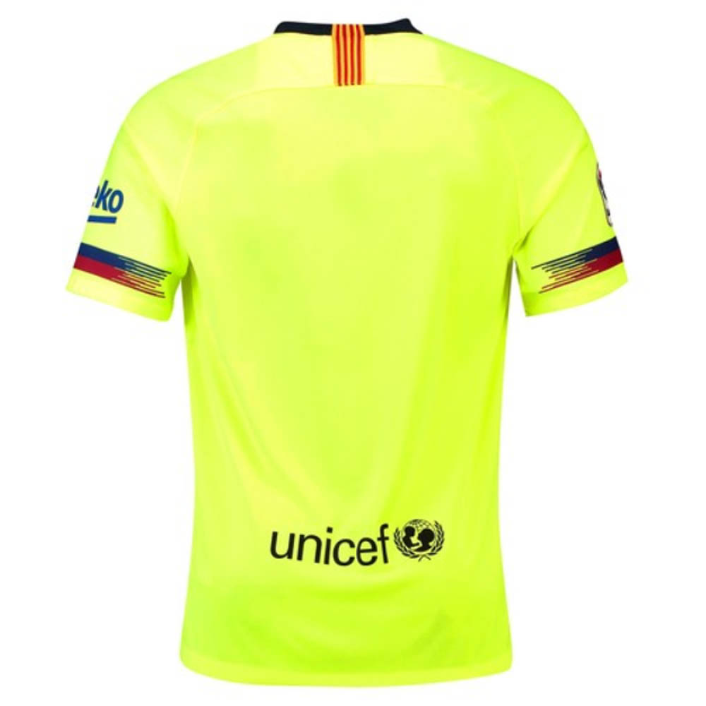 24ced2021 2018-2019 Barcelona Away Nike Football Shirt  918990-703  - Uksoccershop