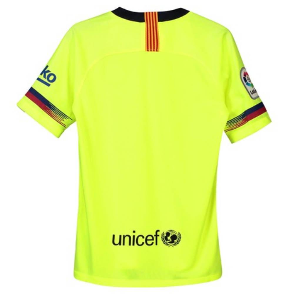 6d9b8d043 2018-2019 Barcelona Away Nike Shirt (Kids)  919236-703  - Uksoccershop
