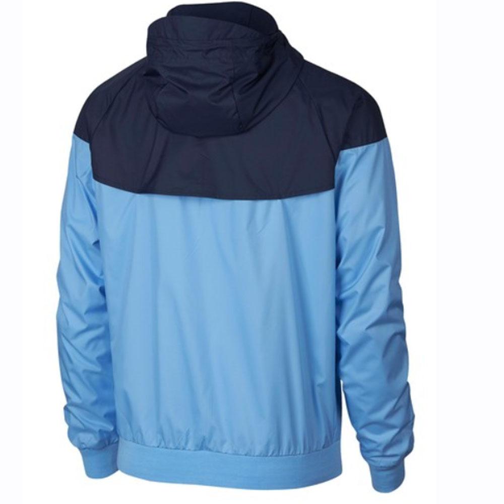 brand new 0d67c 16341 2018-2019 Man City Nike Authentic Windrunner Jacket (Blue)  892421-488  -  Uksoccershop