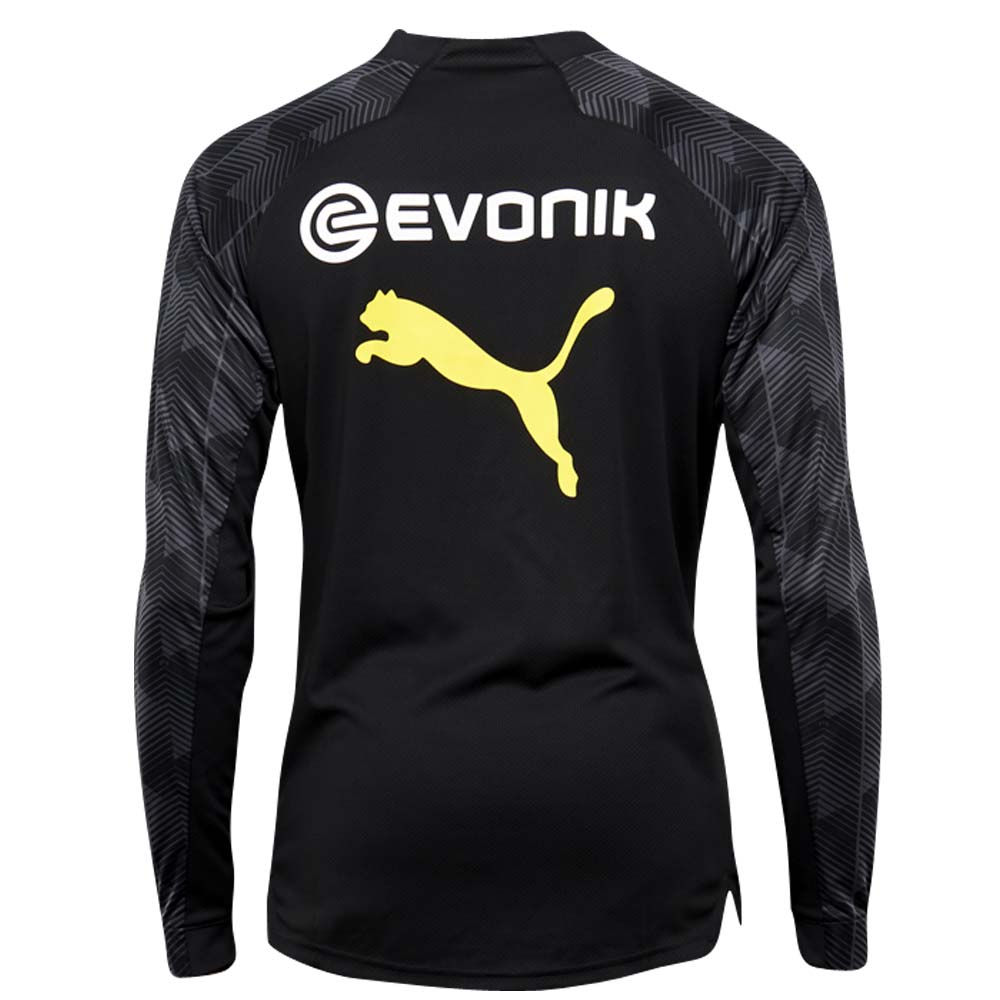 65bdae19a 2018-2019 Borussia Dortmund Puma Quarter Zip Training Top (Black)  [75285902] - Uksoccershop