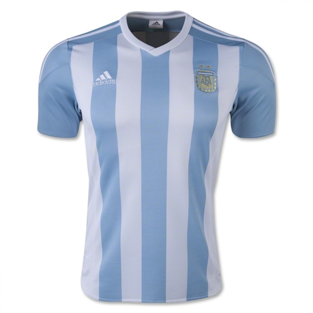 2015-2016 Argentina Home Adidas Football Shirt (Kids) 741e6fb09