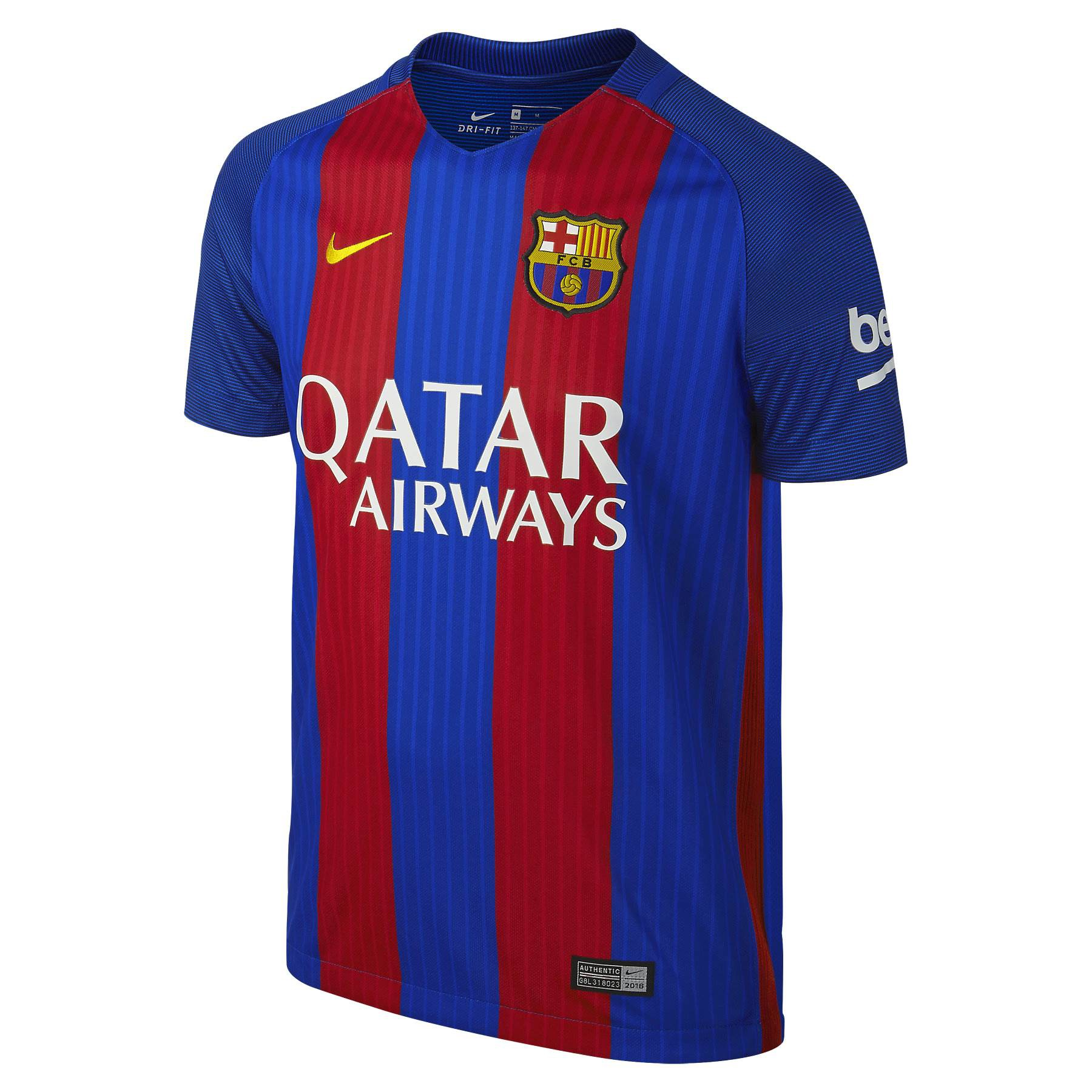 db94606c7 2016-2017 Barcelona Home Nike Shirt (Kids) - with sponsor