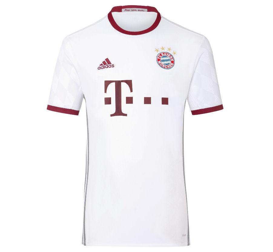 2016-2017 Bayern Munich Adidas UCL Shirt (Kids) 8e37ddd43
