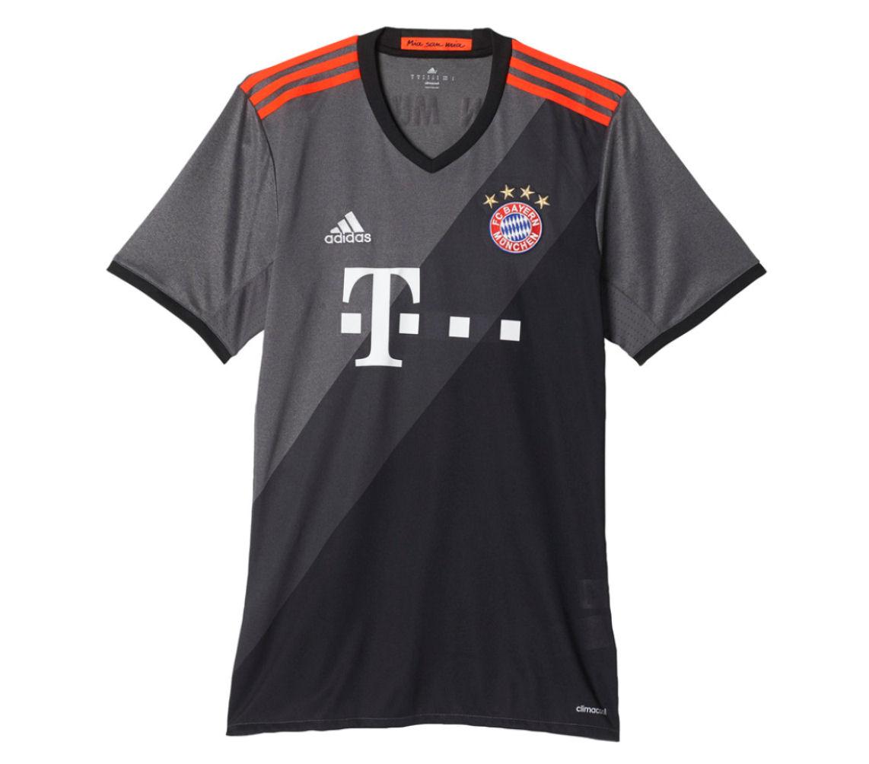 2016-2017 Bayern Munich Adidas Away Football Shirt eb2da7f99