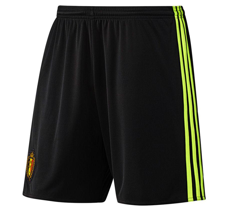 2016-2017 Belgium Home Adidas Football Shorts (Kids) b464c2c76
